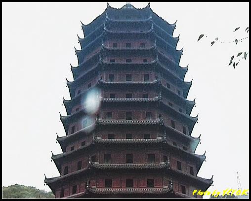 杭州 錢塘江 - 023 (六和塔 下雨中)