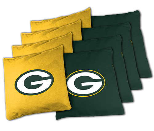 Green Bay Packers Cornhole Bags