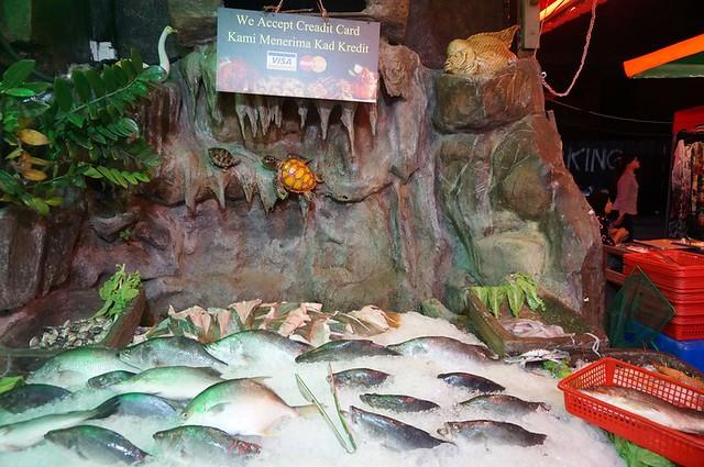Halal Penang Food ikan bakar Hammer Bay or Seri Pantai - Gold Coast Condominium