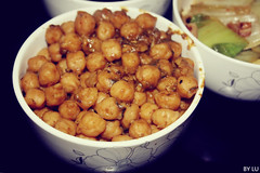 Chickpeas. Or Channa.