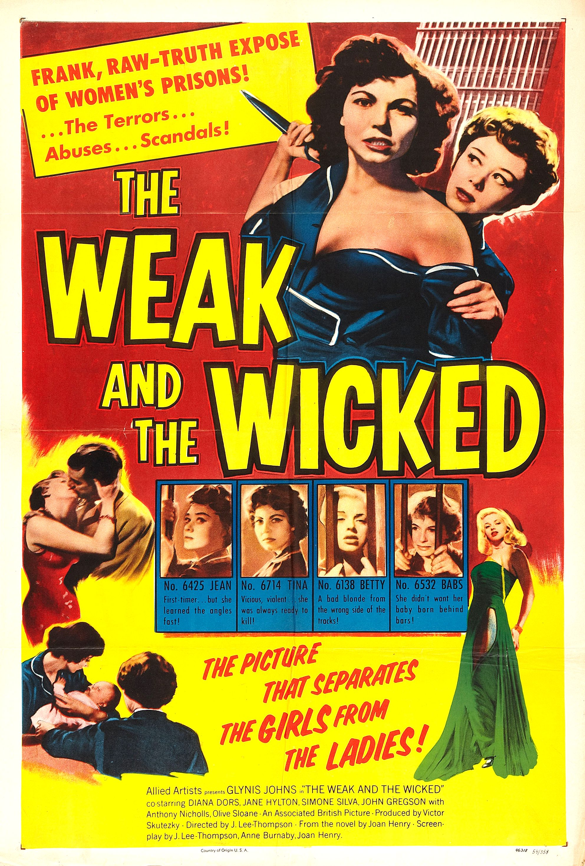 The Weak and the Wicked (1954)