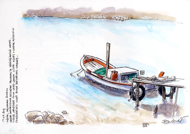 boat at yalikavak