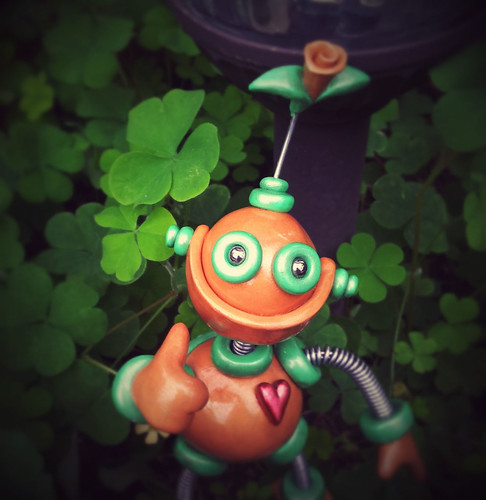 Happy St. Partick's from Robots Are Awesome by HerArtSheLoves