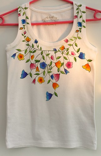 Summery Floral Tee-shirt