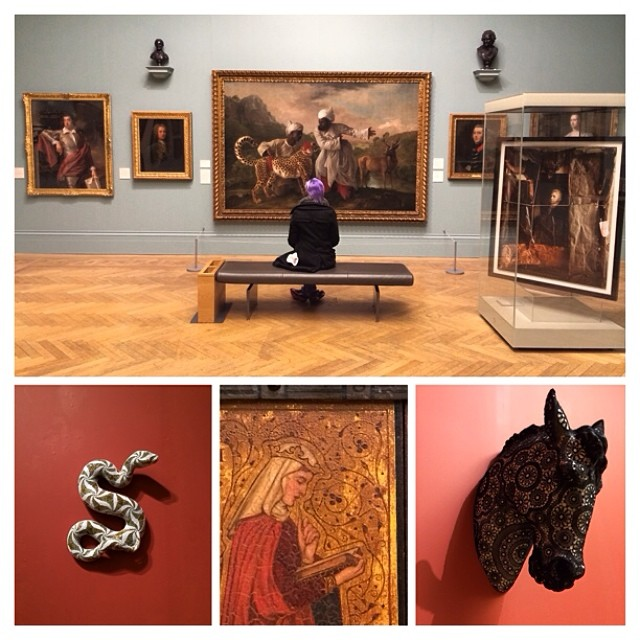 #manchester art gallery was inspiring, expansive, and free!