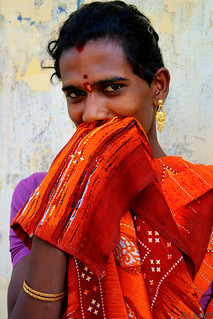 hijra in Madurai, Tamil Nadu, India