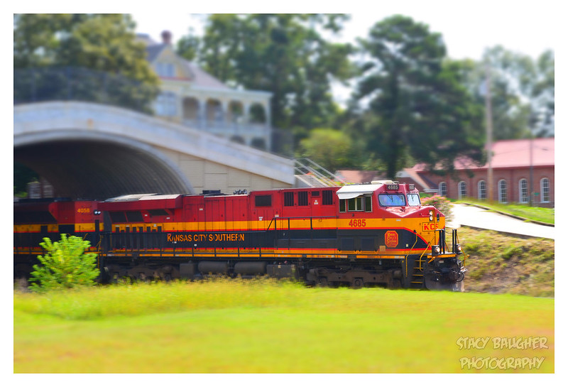 The Kansas City Southern Through Edwards, Mississippi
