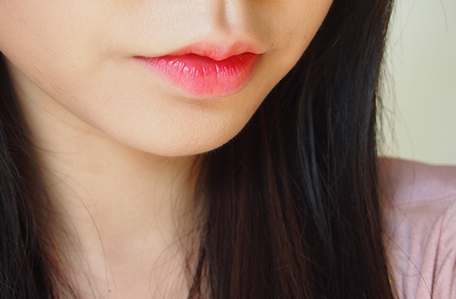 Jun Ji Hyun inspired pink lip