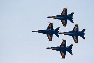 Blue Angel diamond formation