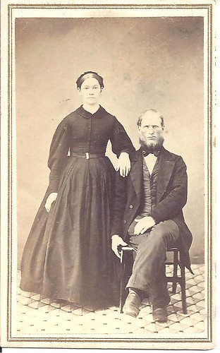 1860's Couple In Elgin