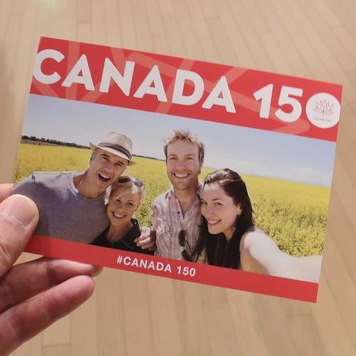 カナダは今年、建国150周年。 #lovecanada150