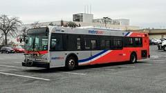 WMATA Metrobus 2006 New Flyer D40LFR #6197