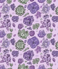 Tribal patterned florals, available on Spoonflower! https://www.spoonflower.com/fabric/5622188-tribal-patterned-flowers-blue-purple-by-maria_oglesby_art