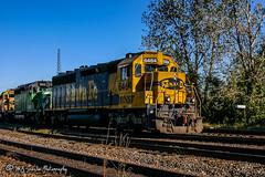 BNSF 6464 | EMD SD45-2 | BNSF Thayer South Subdivison
