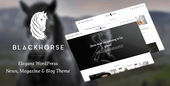 BlackHorse WordPress Theme free download