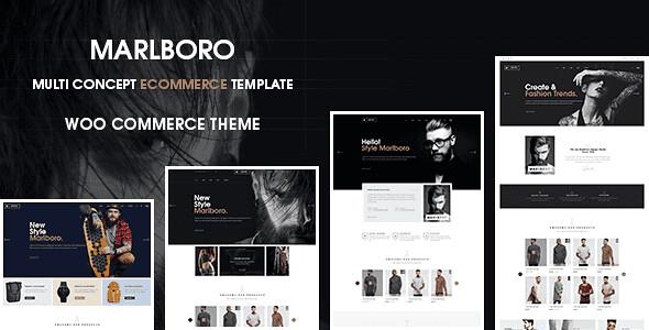 Marlboro WordPress Theme free download