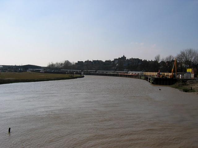 The River Brede in Rye