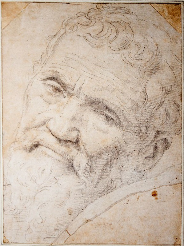 Michelangelo Buonarroti, by Daniele da Volterra