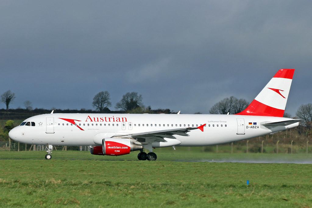 A320-216 D-ABZA AUSTRIAN AIRLINES