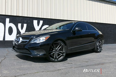 Mercedes E350 with 20in TSW Circuit Wheels