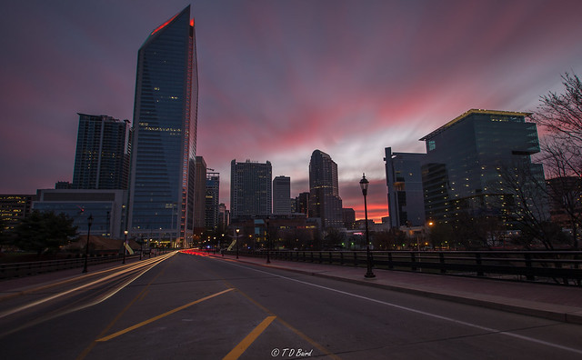 Sunrise Over Charlotte, Pentax K-30, Tamron SP AF 10-24mm F3.5-4.5 Di II LD Aspherical [IF]