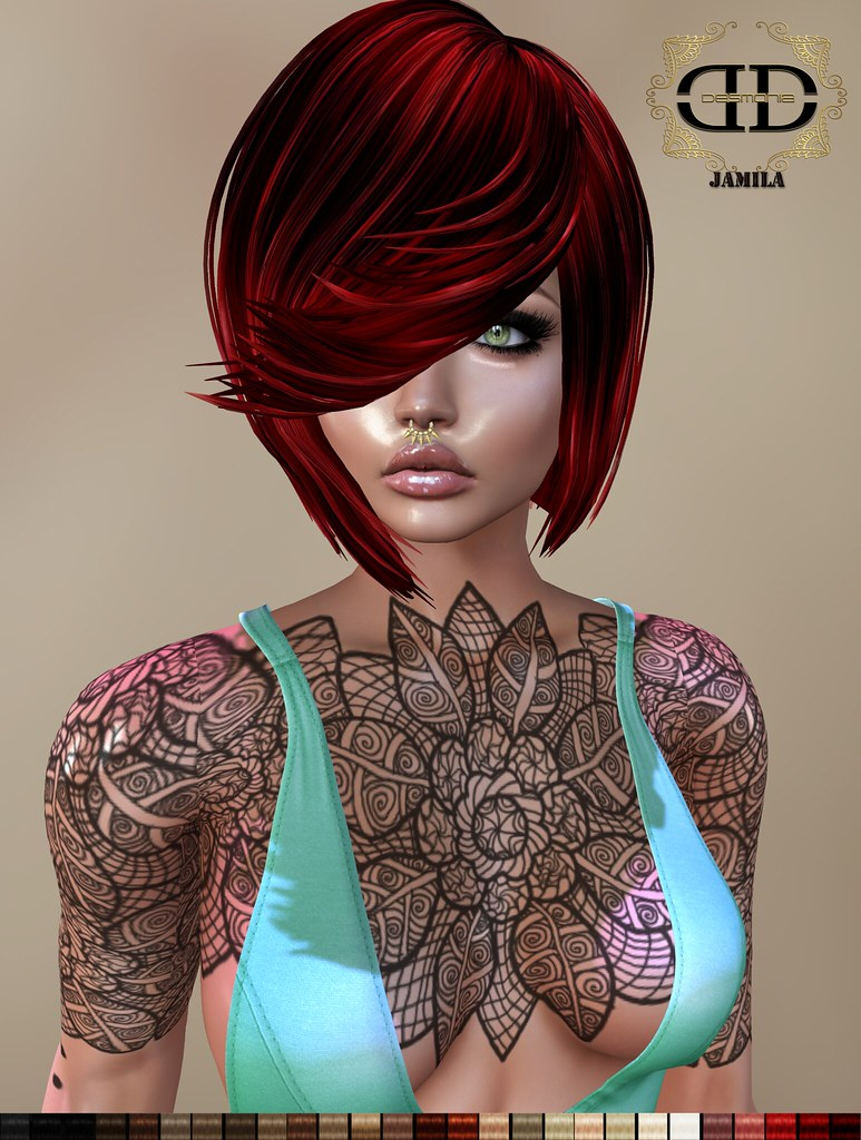 Jamila Hair Fatpack - SecondLifeHub.com