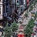 çok değil, 17 sene önce önce istiklal caddesi! :copyright:murat germen, 2000. #istiklalcaddesi #istiklal #caddesi #beyoğlu #beyoglu #taksim #pera #galatasaray