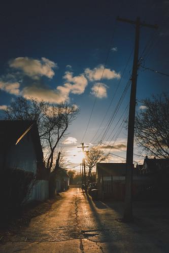 spring fujifilmx70 sunset 365photochallenge x70 manitoba fujifilm cold 2017 2017365photoproject westend backlane canada winnipeg 365photoproject 2017365arlophotochallenge april ca