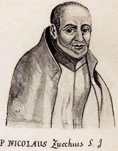 Portrait of Italian Jesuit Niccolo Zucchi