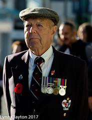 War Veteran - Newmarket Anzac Parade 2017