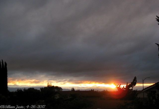 A Gloomy Sunset Tonight, Canon POWERSHOT SD1100 IS