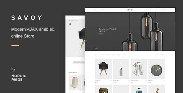Savoy WordPress Theme free download