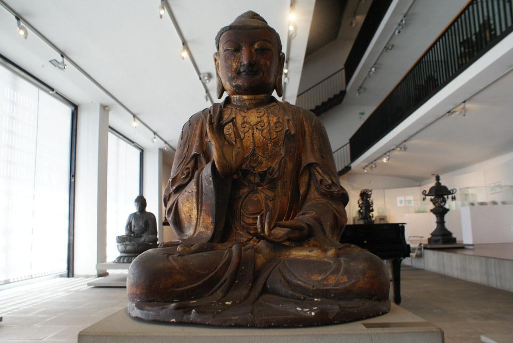 La collection de Bouddha est l'une des plus belles du musée asiatique de Gênes.