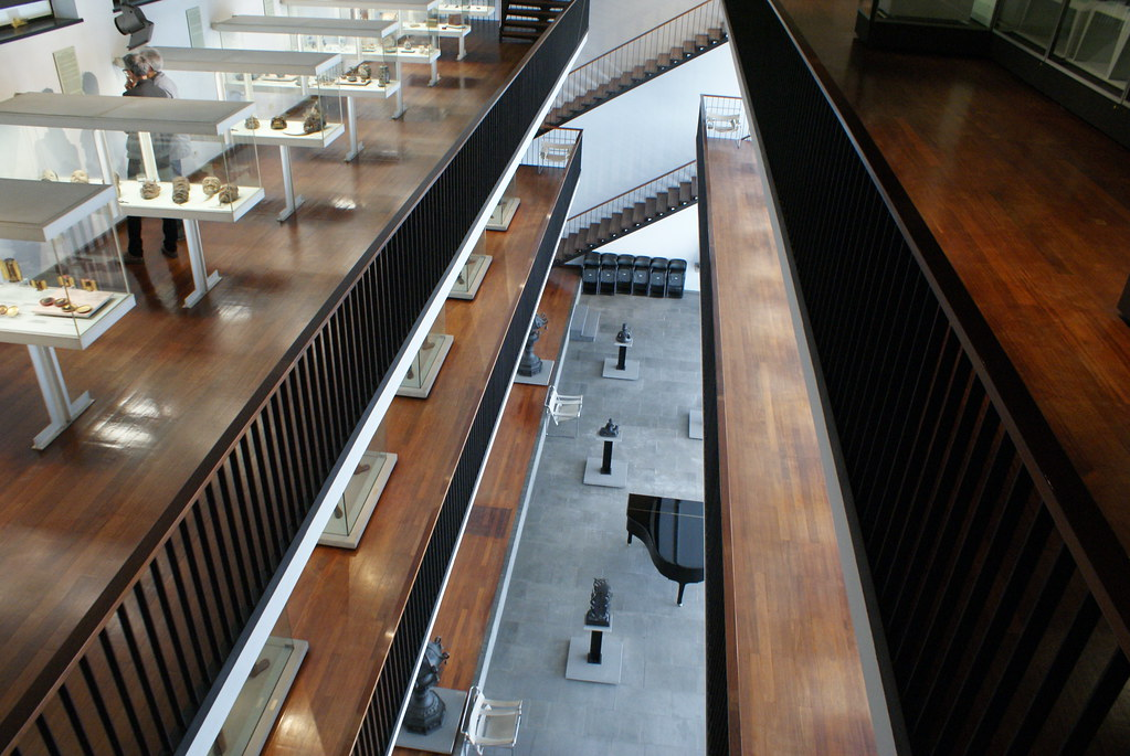 Intérieur du musée asiatique de Gênes.