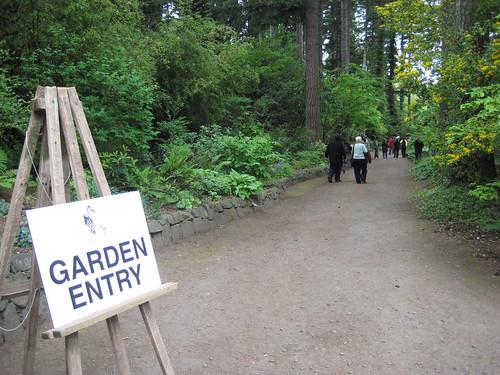 Heronswood Garden Entry