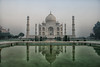 Morning Stroll in the Taj Mahal by Shuo Photography