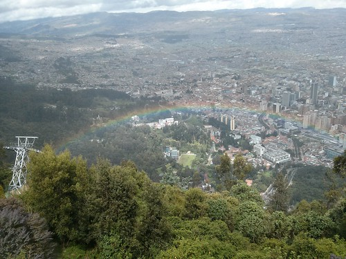 Rainbow - Monserrate - Bogotá, Colombia, May 2013