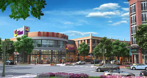 Cathedral Commons, south parcel (courtesy of H&R Retail)