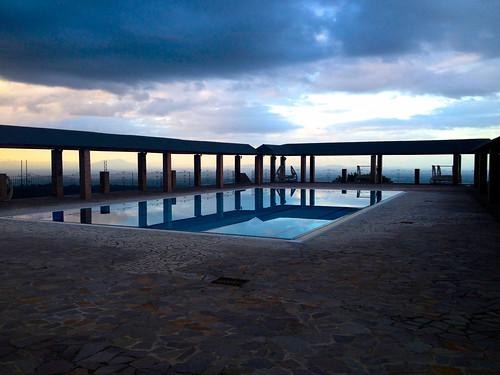 sea italy mountain pool dawn hotel campania view photostream anticacascina
