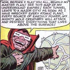 """Before I slay you all, behold my master plan!"" #comicbooks"