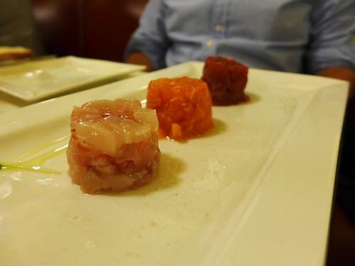 Ristorante Baccano Roma fish tartare