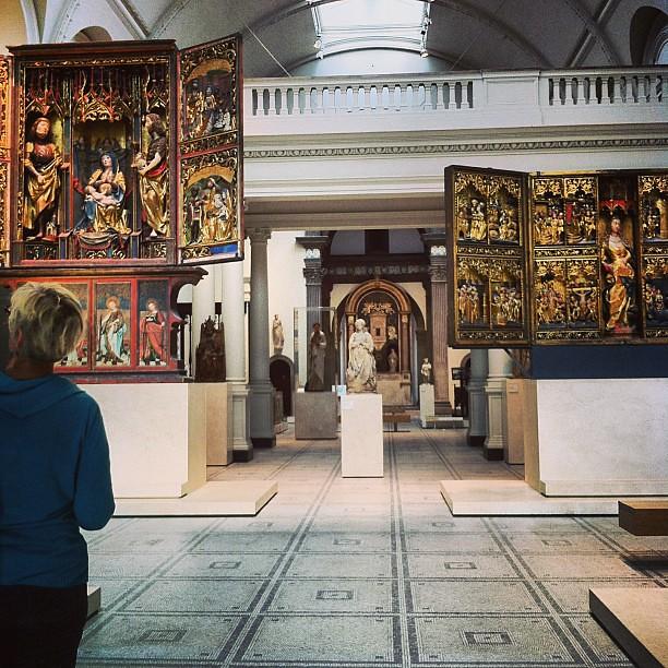 Tanta luce naturale e spazio per ammirare le opere... questo è un Museo (con M maiuscola) #London