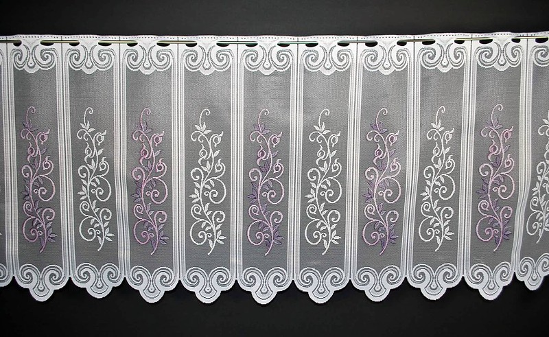 13 cm breite scheibengardinen 60 cm hoch mehrere farben. Black Bedroom Furniture Sets. Home Design Ideas