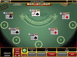 Atlantic City Blackjack Multi-Hand