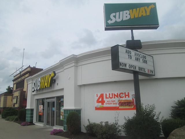 Subway Restaurant Olean Ny