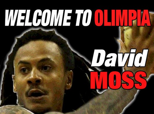 Olimpia, two years with David Moss!