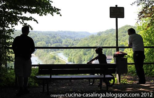 Ausblick Isar Burgweg