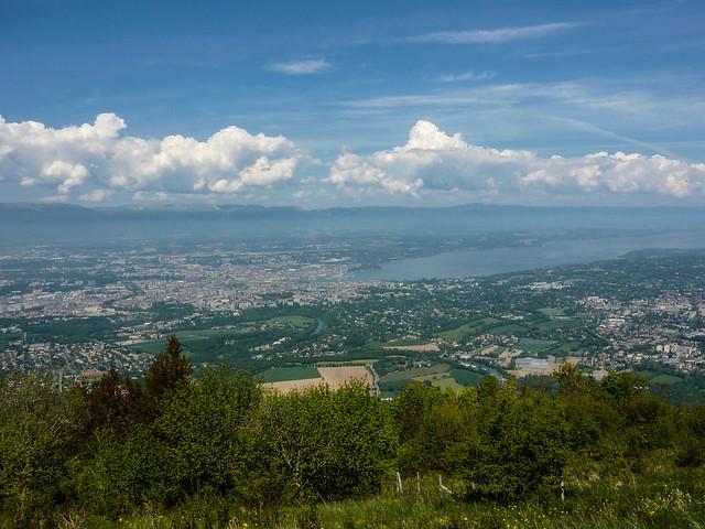 Saleve - View of Geneva