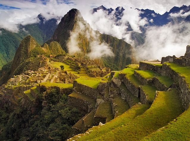 Clearing Storm over Machu Picchu