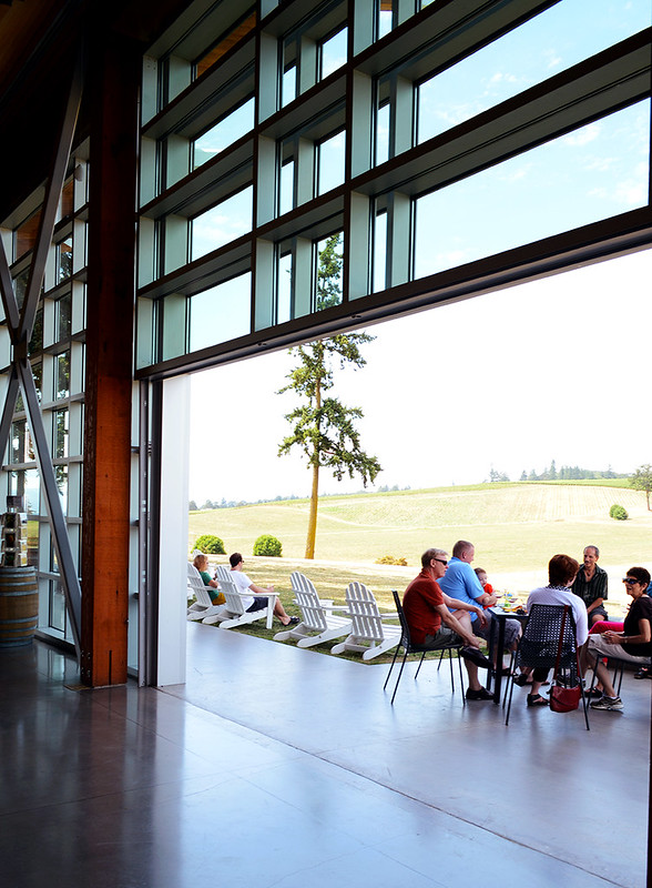 Stoller Vineyard Tasting Room